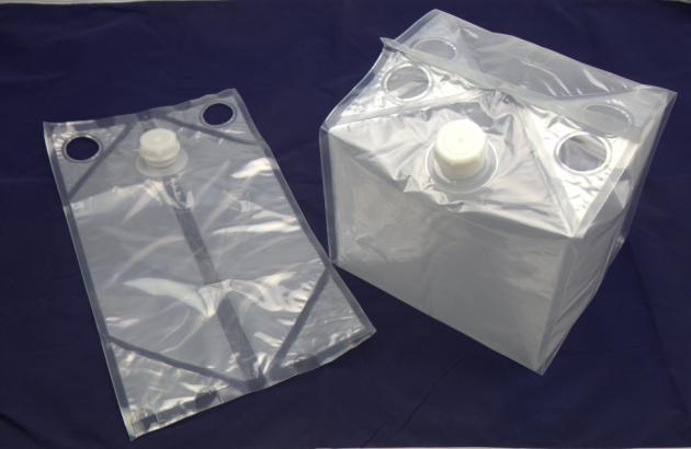 立體式箱中袋<br>Cubic bag in box 1